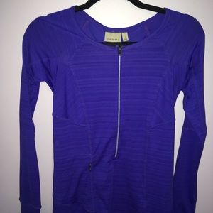 Athleta Pacifica UPF long sleeve in blue